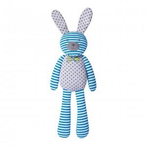 "Organic Farm Bunny - 18"" farm bunny blue"