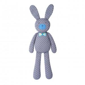 """Organic Farm Bunny - 18"""" farm bunny gray"""