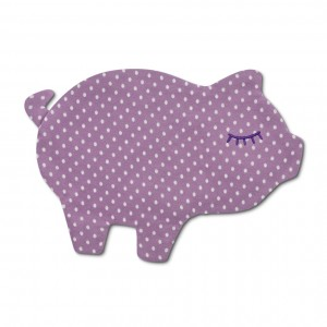 crinkle blankie - piggy