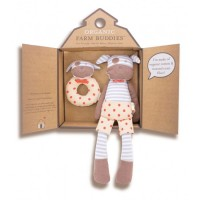 organic farm gift set - boxer dog
