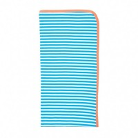 farm boy blanket - with blue stripes