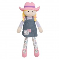 "Organic Farm Girl, Susie Sunshine - 15"" Plush"