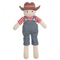 "Organic Farm Boy, Barnyard Billy - 15"" Plush"