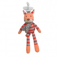 Organic Pacifier Buddies - Frenchy Fox