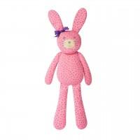"""Organic Farm Bunny - 18"""" farm bunny pink"""