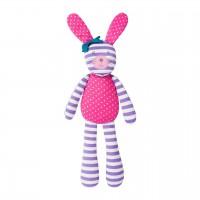 """Organic Farm Bunny - 18"""" farm bunny purple"""