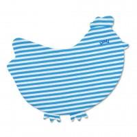 crinkle blankie - chick